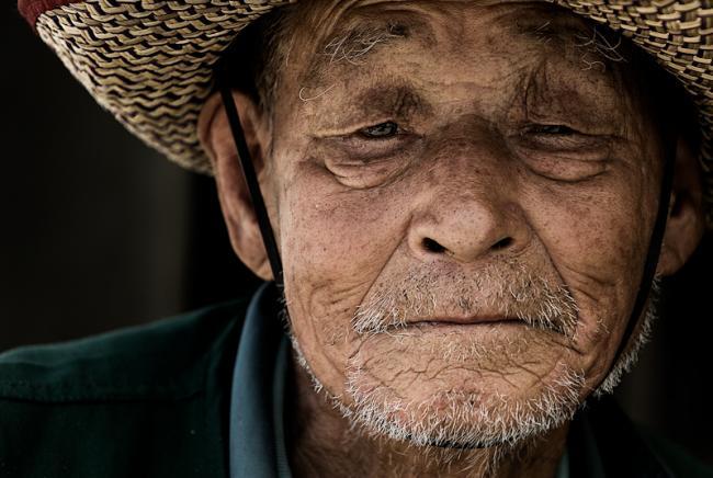 Portrait of a korean man
