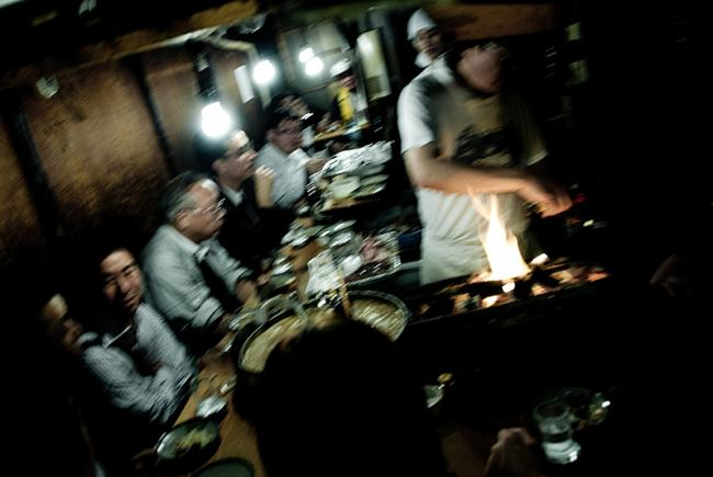 Small eating place in Shinjuku