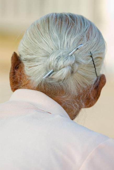 Traditional Korean women's hairstyle