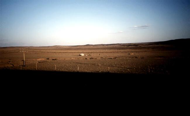 Ger in Gobi, 1993