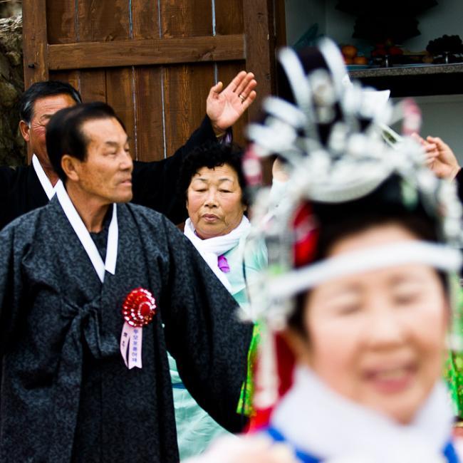 Shaman ritual, Korea