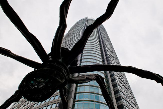 The spider at Mori art museum, Roppongi, Tokyo