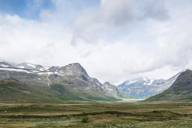 Entrance to Jotunheimen, Norway